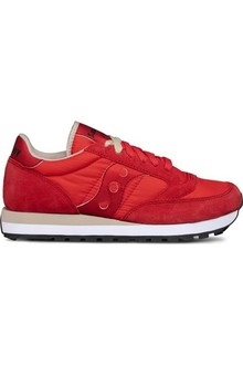 SNEAKERS SAUCONY JAZZ RED/TAN