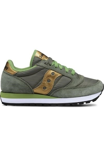 SNEAKERS JAZZ SAUCONY OLIVE-GOLD